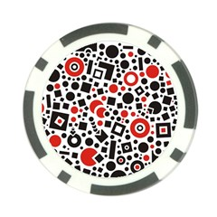 Square Objects Future Modern Poker Chip Card Guard