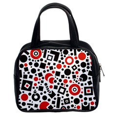 Square Objects Future Modern Classic Handbags (2 Sides)