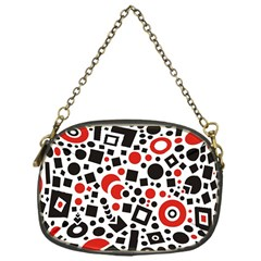 Square Objects Future Modern Chain Purses (one Side)