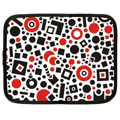 Square Objects Future Modern Netbook Case (xxl)