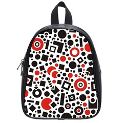 Square Objects Future Modern School Bag (small)