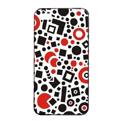 Square Objects Future Modern Apple Iphone 4/4s Seamless Case (black)