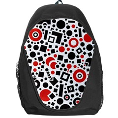 Square Objects Future Modern Backpack Bag