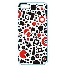 Square Objects Future Modern Apple Seamless Iphone 5 Case (color)