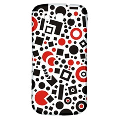 Square Objects Future Modern Samsung Galaxy S3 S Iii Classic Hardshell Back Case