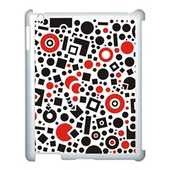Square Objects Future Modern Apple Ipad 3/4 Case (white)