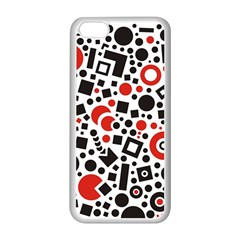 Square Objects Future Modern Apple Iphone 5c Seamless Case (white)