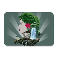 Digital Nature Beauty Plate Mats