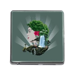 Digital Nature Beauty Memory Card Reader (square)