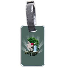 Digital Nature Beauty Luggage Tags (two Sides)