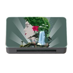 Digital Nature Beauty Memory Card Reader With Cf