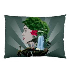 Digital Nature Beauty Pillow Case (two Sides)