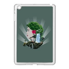 Digital Nature Beauty Apple Ipad Mini Case (white)