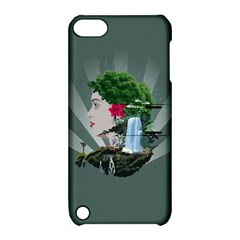 Digital Nature Beauty Apple Ipod Touch 5 Hardshell Case With Stand