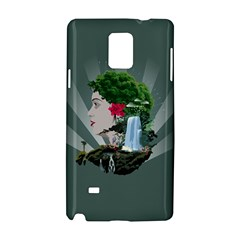Digital Nature Beauty Samsung Galaxy Note 4 Hardshell Case
