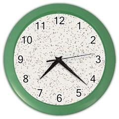 Pattern Star Pattern Star Color Wall Clocks