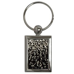 Christmas Bokeh Lights Background Key Chains (rectangle)