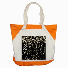 Christmas Bokeh Lights Background Accent Tote Bag
