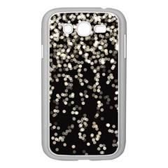 Christmas Bokeh Lights Background Samsung Galaxy Grand Duos I9082 Case (white)