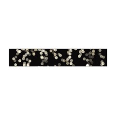 Christmas Bokeh Lights Background Flano Scarf (mini)