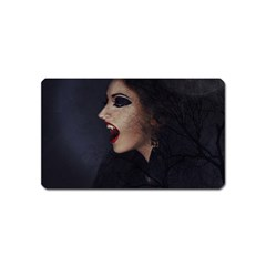 Vampire Woman Vampire Lady Magnet (name Card)