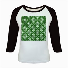 St Patrick S Day Damask Vintage Kids Baseball Jerseys