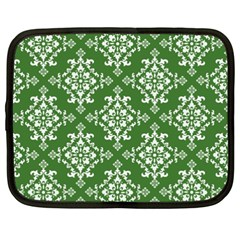 St Patrick S Day Damask Vintage Netbook Case (xxl)