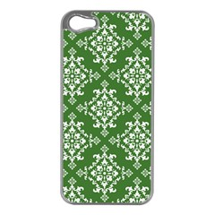 St Patrick S Day Damask Vintage Apple Iphone 5 Case (silver)