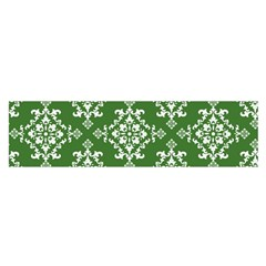 St Patrick S Day Damask Vintage Satin Scarf (oblong)