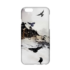 Birds Crows Black Ravens Wing Apple Iphone 6/6s Hardshell Case