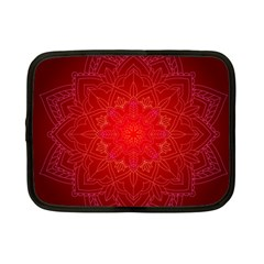 Mandala Ornament Floral Pattern Netbook Case (small)