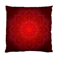 Mandala Ornament Floral Pattern Standard Cushion Case (one Side)