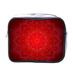 Mandala Ornament Floral Pattern Mini Toiletries Bags