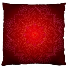Mandala Ornament Floral Pattern Large Cushion Case (two Sides)