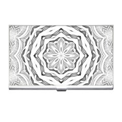 Mandala Pattern Floral Business Card Holders