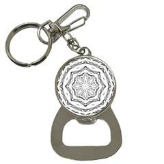 Mandala Pattern Floral Button Necklaces