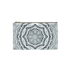 Mandala Pattern Floral Cosmetic Bag (small)