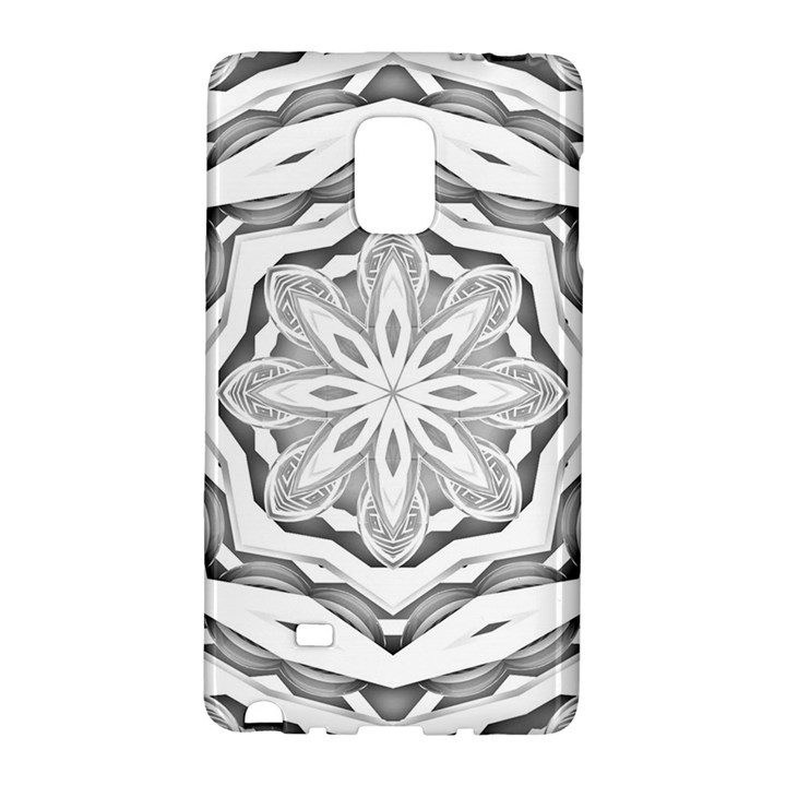 Mandala Pattern Floral Galaxy Note Edge