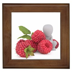 Fruit Healthy Vitamin Vegan Framed Tiles