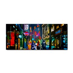 Abstract Vibrant Colour Cityscape Cosmetic Storage Cases