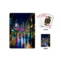 Abstract Vibrant Colour Cityscape Playing Cards (mini)