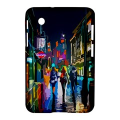Abstract Vibrant Colour Cityscape Samsung Galaxy Tab 2 (7 ) P3100 Hardshell Case
