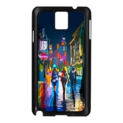 Abstract Vibrant Colour Cityscape Samsung Galaxy Note 3 N9005 Case (black)