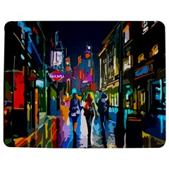 Abstract Vibrant Colour Cityscape Jigsaw Puzzle Photo Stand (rectangular)