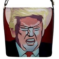 Donald Trump Pop Art President Usa Flap Messenger Bag (s)