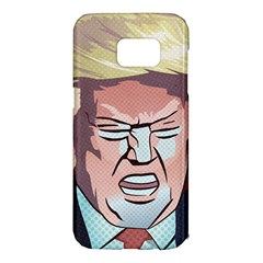 Donald Trump Pop Art President Usa Samsung Galaxy S7 Edge Hardshell Case