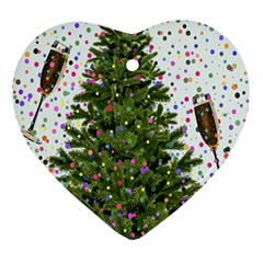 New Year S Eve New Year S Day Ornament (heart)