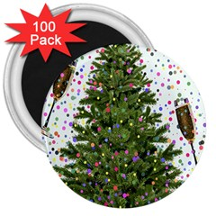 New Year S Eve New Year S Day 3  Magnets (100 Pack)