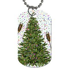 New Year S Eve New Year S Day Dog Tag (one Side)