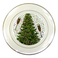 New Year S Eve New Year S Day Porcelain Plates